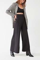 Urban Outfitters Uo Naomi Wide Leg High Rise Shine Pant Black