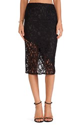 Boulee Sasha Lace Skirt Black