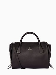 Modalu Willow Triple Compartment Grab Bag Black
