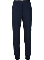 Adam By Adam Lippes Adam Lippes Gathered Ankle Trousers Blue