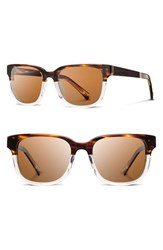 Women's Shwood 'Prescott' 52Mm Polarized Acetate And Wood Sunglasses