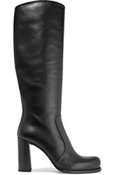 Prada Leather Boots Black