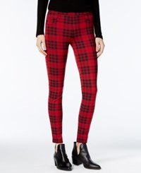 Sanctuary Grease Plaid Leggings Janis Plaid