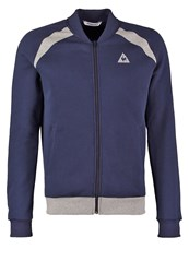 Le Coq Sportif Adorlo Tracksuit Top Dress Blues Light Heather Grey Dark Blue