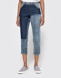 Objects Without Meaning Boy Zip Patch Jean Blues