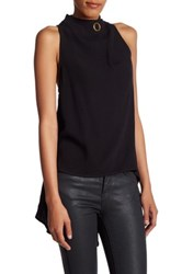 Finders Keepers Great Heights Sleeveless Shirt Black