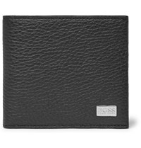 Hugo Boss Crosstown Full Grain Leather Billfold Wallet Black