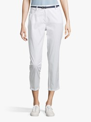 Betty Barclay Cropped Jeans Bright White