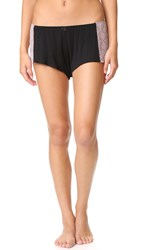 Only Hearts Club Venice Hipster Sleep Shorts Black Mystic