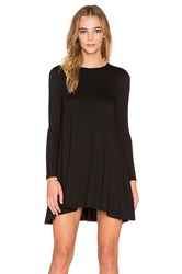 De Lacy Tyler Long Sleeve Dress Black