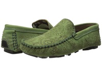 Robert Graham Verrazano Kiwi Men's Slip On Shoes Olive