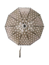 Marc By Marc Jacobs Boxer Print Umbrella Black