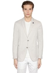Lardini Washed Stretch Cotton Jacket