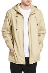Zanerobe Men's Shade Longline Hooded Jacket