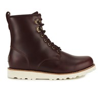 Ugg Men's Hannen Tl Waterproof Leather Lace Up Boots Cordovan Brown