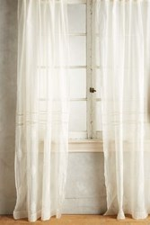 Anthropologie Consiglia Curtain Cream