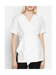 Whistles Kelso Wrap Shirt White