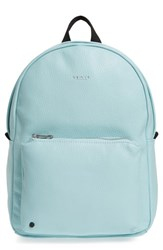 State Bags Greenwood Mini Lorimer Leather Backpack Blue Mint