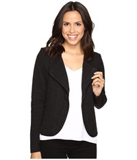 Nic Zoe Modern Zipper Jacket Black Onyx Women's Coat