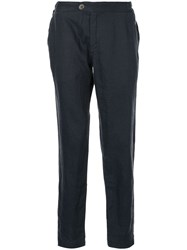 Venroy Side Tab Trousers Blue