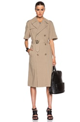 Nlst Rolled Sleeve Trench Coat In Neutrals