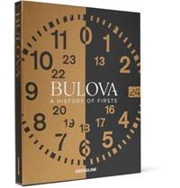 Assouline Bulova A History Of Firsts Hardcover Book