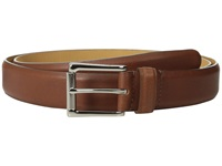 Cole Haan 32Mm Burnished Edge Mill Egyptian Cow Belt Tan Men's Belts