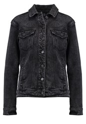 Twintip Denim Jacket Black Acid Wash Black Denim