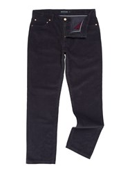 Howick Men's Cambridge 5 Pocket Cord Trouser Navy