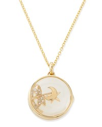 Hope Charm Locket Necklace Loquet London Gold