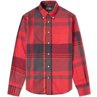 Gitman Brothers Vintage Big Madras Shirt Red