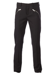 Neil Barrett Zip Pocket Trousers Black