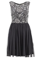 Lace And Beads Celestial Cocktail Dress Party Dress Grey