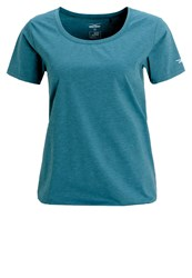Venice Beach Riala Basic Tshirt Forest Night Turquoise