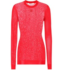 Givenchy 4G Knitted Sweater Red