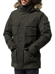 Jack Wolfskin Glacier Canyon Insulated 'S Waterproof Parka Black