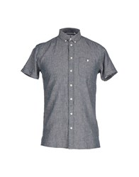 Minimum Shirts Shirts Men Dark Blue