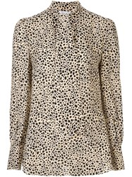 Rebecca Vallance Anya Cut Out Blouse Brown