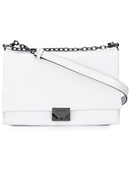 Emporio Armani Classic Shoulder Bag White