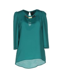 Nora Barth Blouses Green