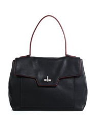Prada Toro Top Handle Satchel Black