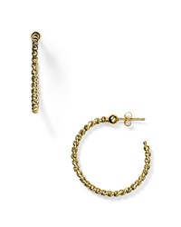 Officina Bernardi Hoop Earrings Gold