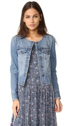 Joie Cranham Jacket Washed Denim