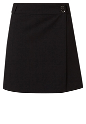 Anna Field Wrap Skirt Black