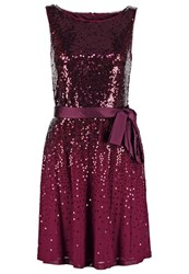 S.Oliver Cocktail Dress Party Dress Wild Orchid Berry