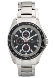 Tom Tailor Chronograph Watch Silberfarben Silver