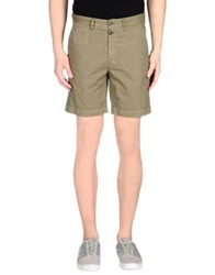 M.Grifoni Denim Bermudas Military Green