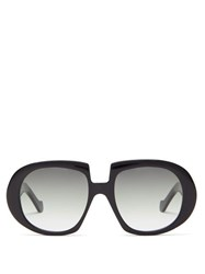 Loewe Oversized Acetate Sunglasses Black