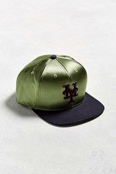 American Needle Babomb New York Mets Baseball Hat Olive