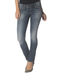 Silver Jeans Tuesday Low Straight Leg Jeans Indigo